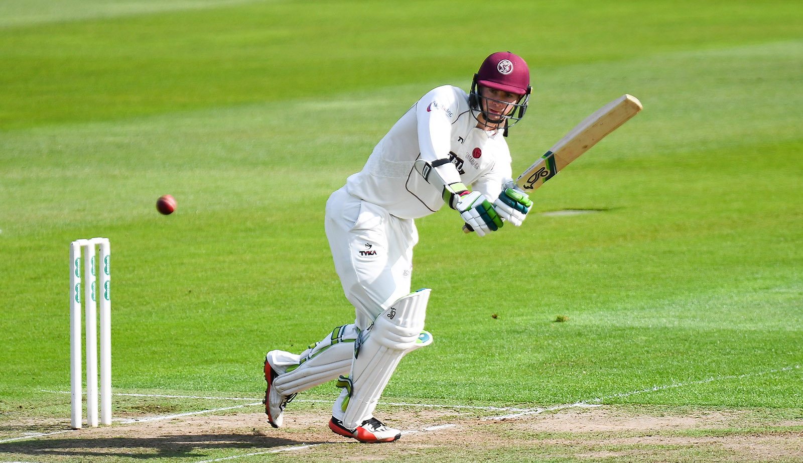 Cricket In New Zealand The Left Handed Opener Who Graduated From The Somerset Academy In The Summer Of  Made His Championship Debut In The First