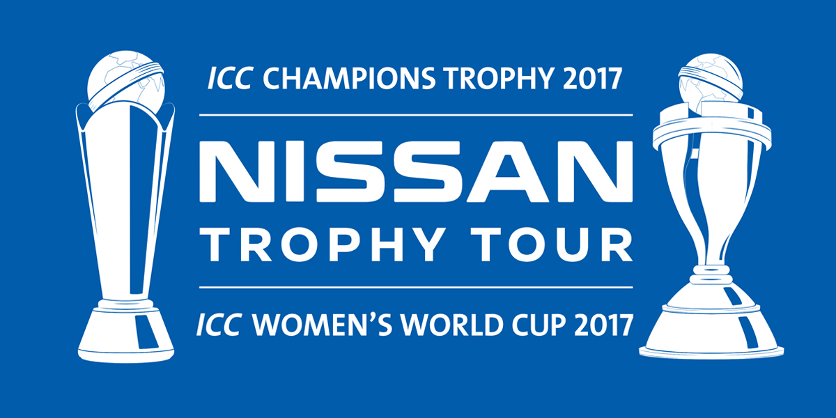 The ICC Nissan Trophy Tour Begins In Taunton One Week
