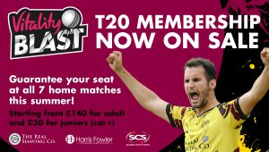 T20 Membership On Sale Now