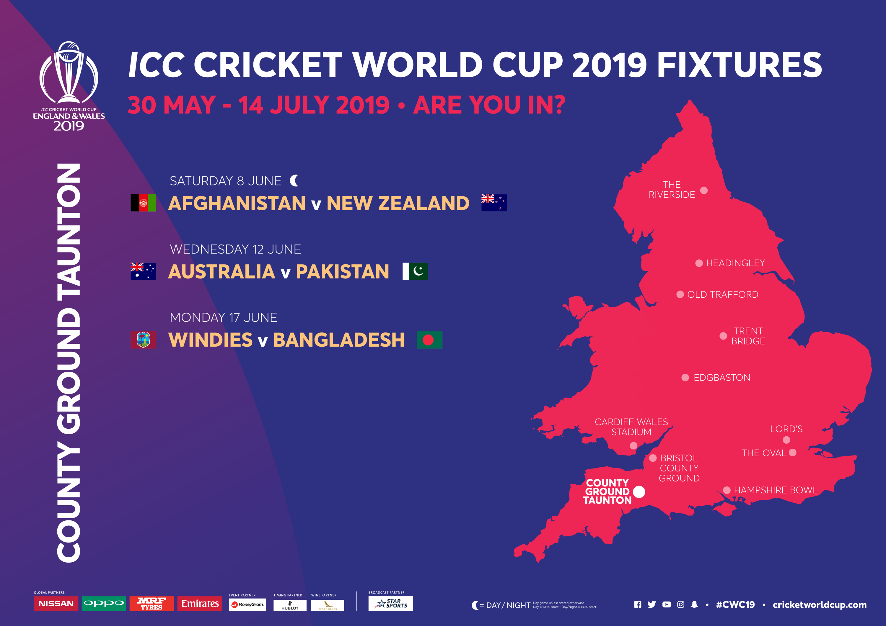 ICC CRICKET WORLD CUP 2019 LAUNCHES OFFICIAL RESALE TICKET