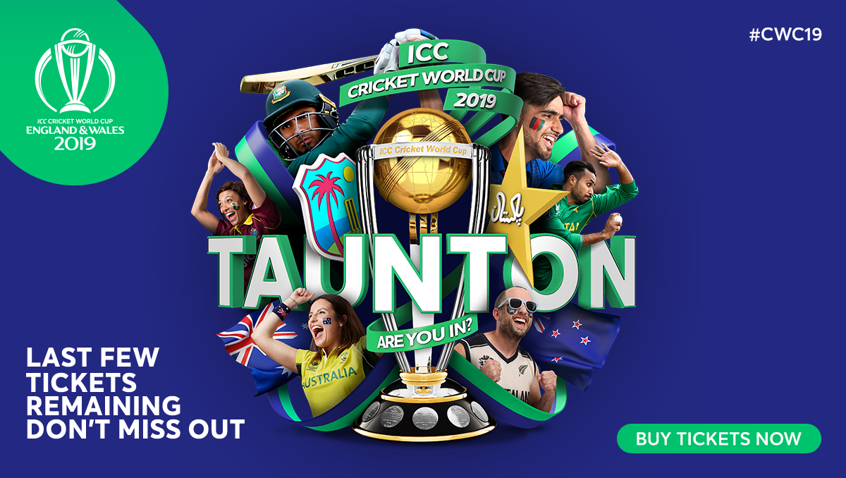 Remaining Icc Cricket World Cup 2019 Tickets Now On General