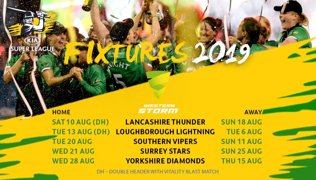 Full 2019 fixtures released - Somerset County Cricket Club