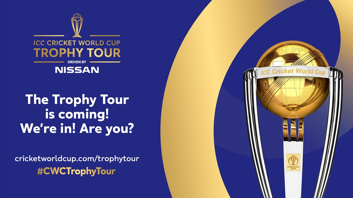 100 Day Icc Cricket World Cup Trophy Tour Announced Somerset